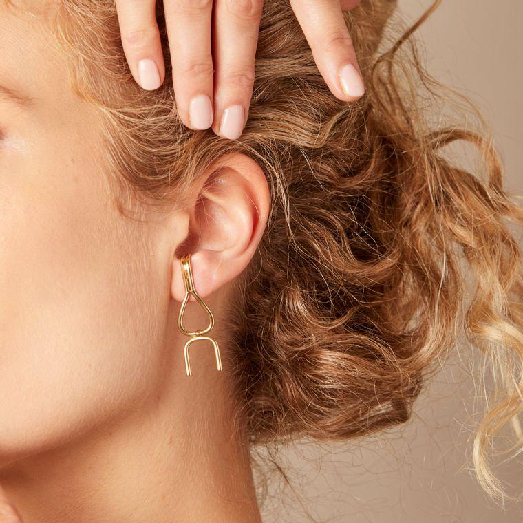 Wishbone Dangle Earrings