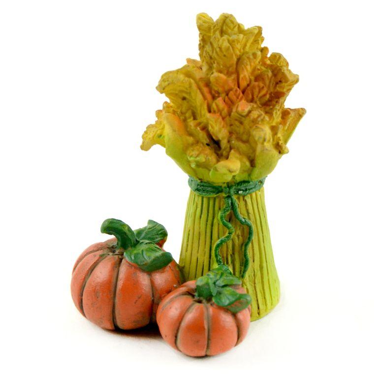 """2"""" Bundle of Hay & Pumpkins"""