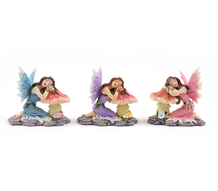 "2.5"" Pastel Sleeping Fairies"