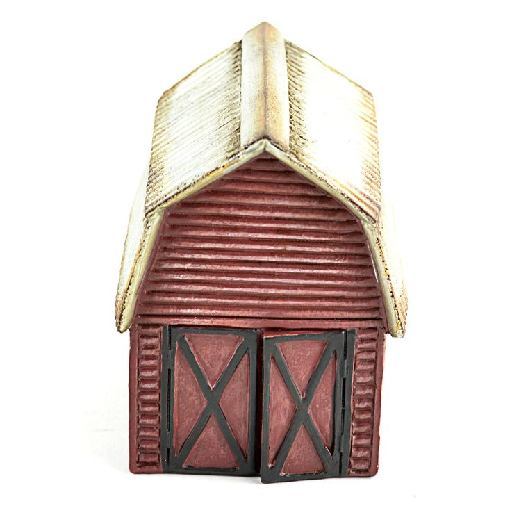 "4.25"" Red Barn"