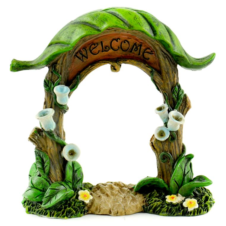 "4"" Welcome Sign"