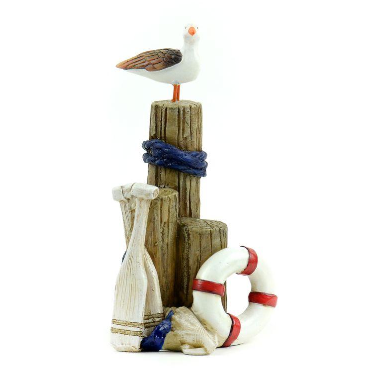 "5.25"" Driftwood Nautical Scene"