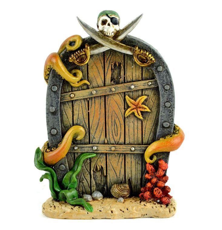 """5.5"""" Pirate Door with Tentacles"""