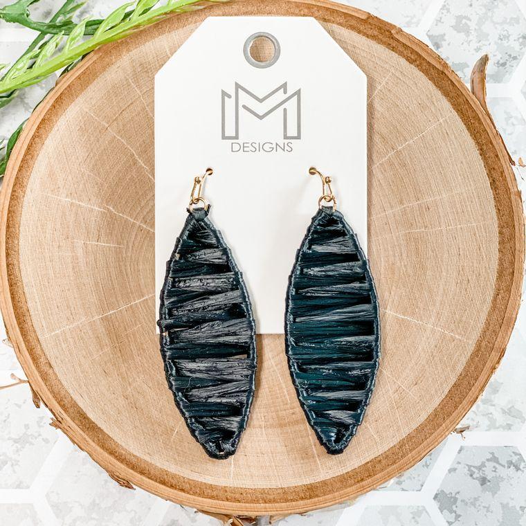 Jolie Earrings - Black