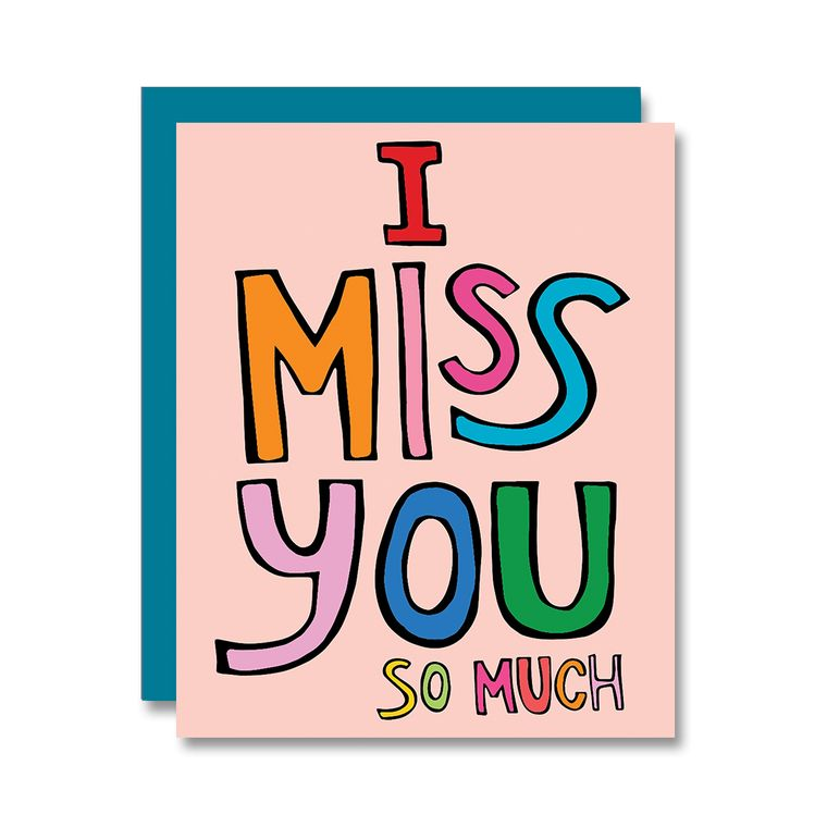I Miss You So Much, Card
