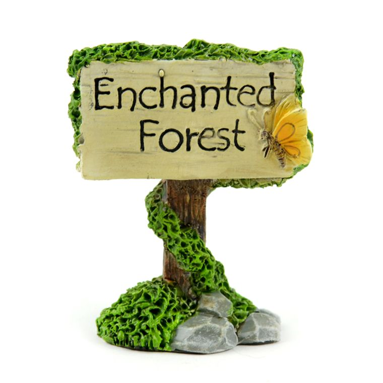 "2.5"" Enchanted Forest Sign"