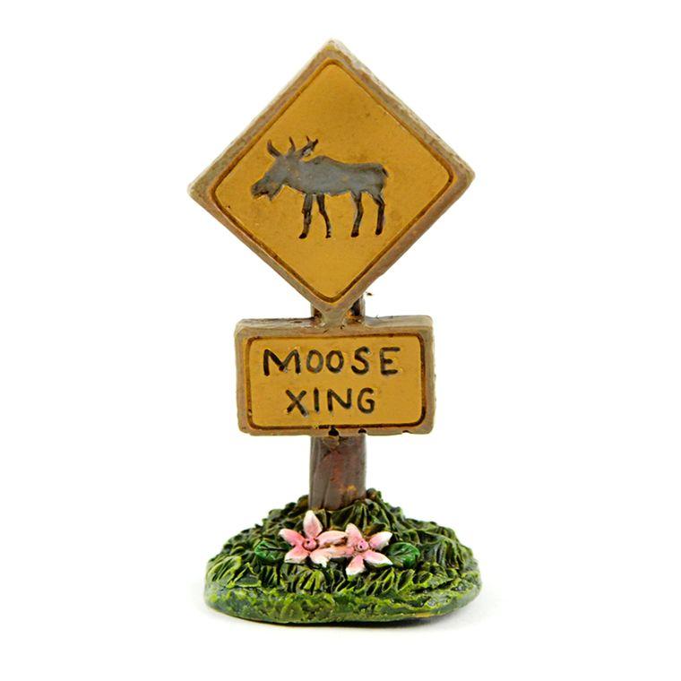 "3"" Moose Xing Sign"