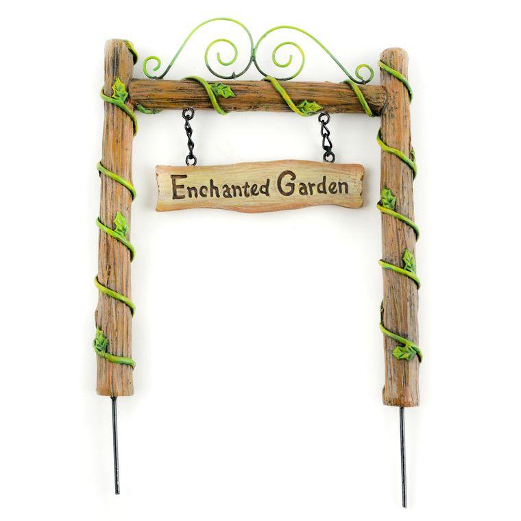 "8"" Enchanted Garden Archway,"