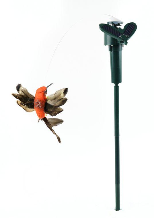 """5"""" Garden Solar Hummingbird"""