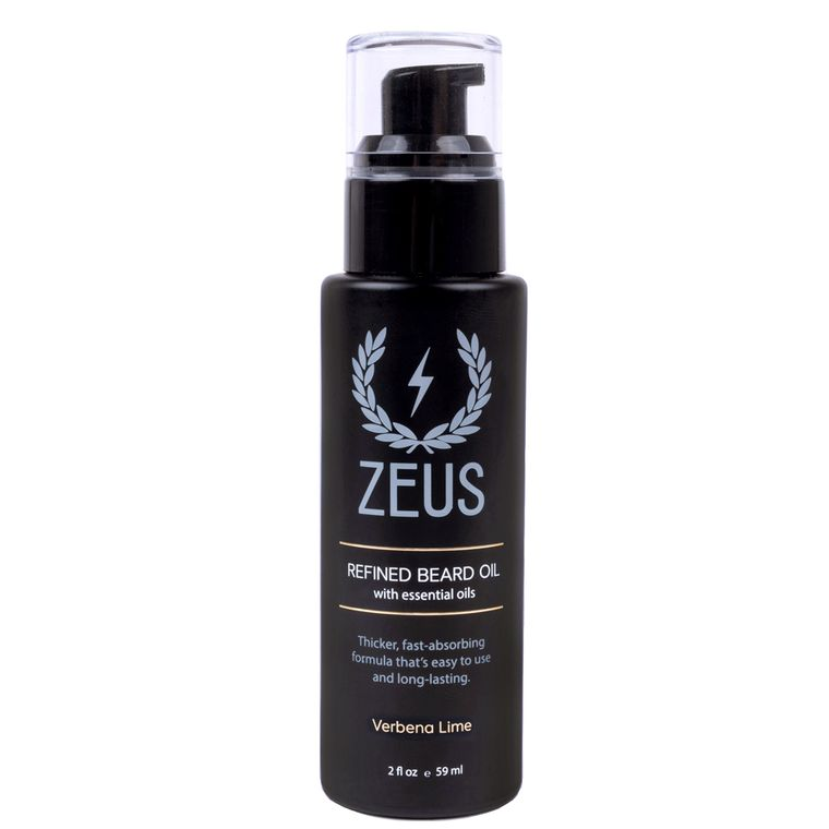 Zeus Refined Beard Oil, Verbena Lime