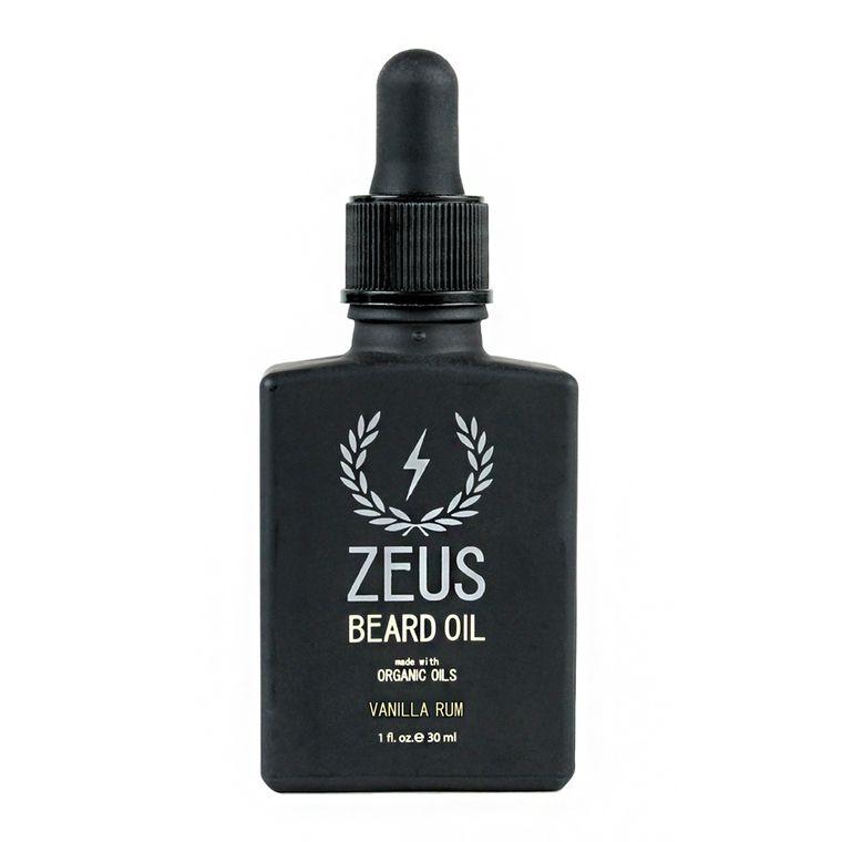 Zeus Beard Oil, Organic Vanilla Rum
