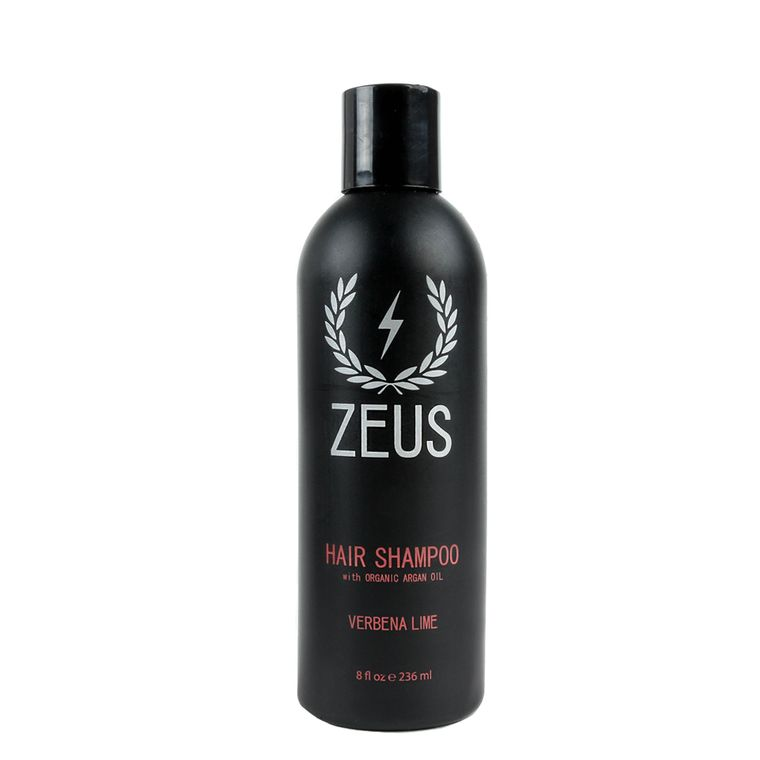 Zeus Hair Shampoo with Argan Oil, Verbena Lime