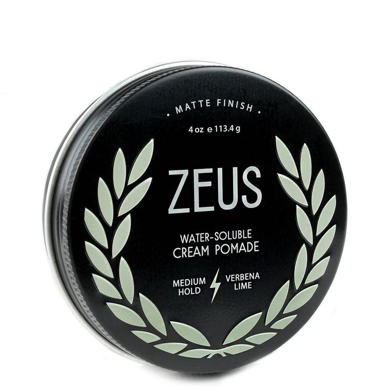Zeus Cream Pomade Medium Hold Verbena Lime