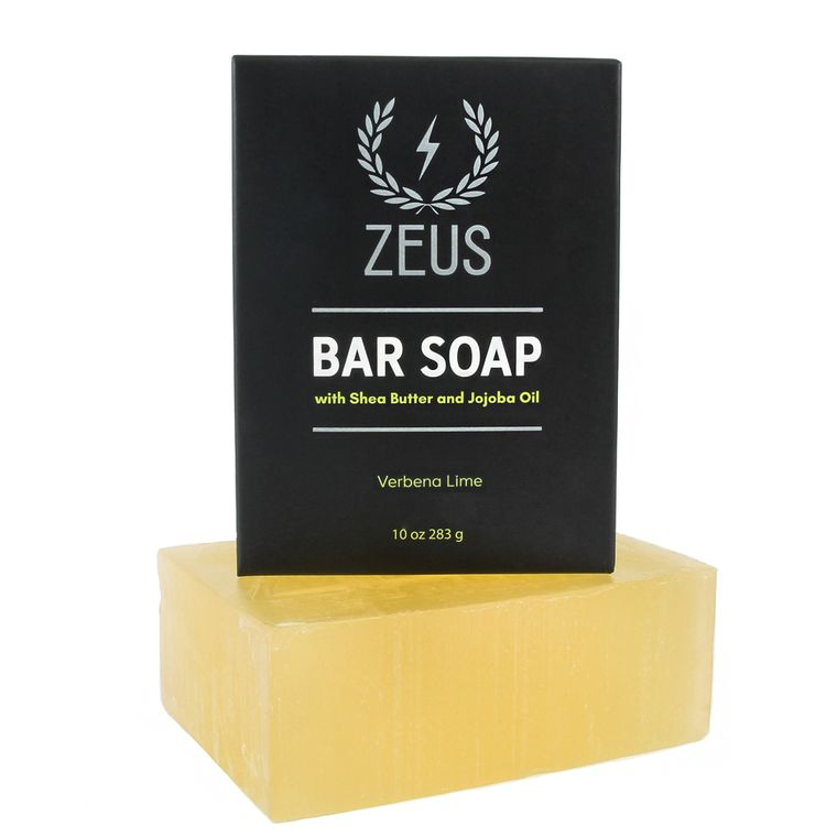Zeus Bar Soap, Verbena Lime