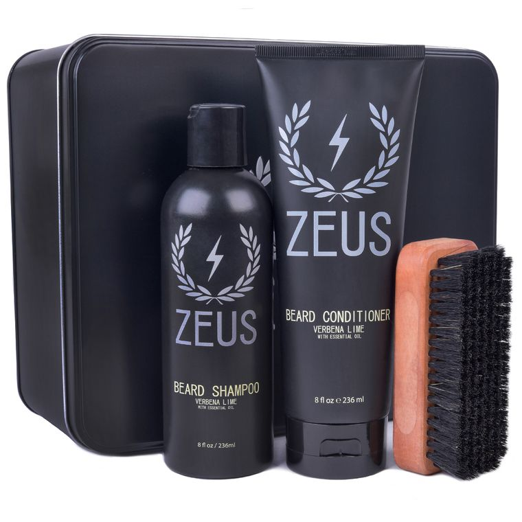Zeus Beard Care Set, Verbena Lime