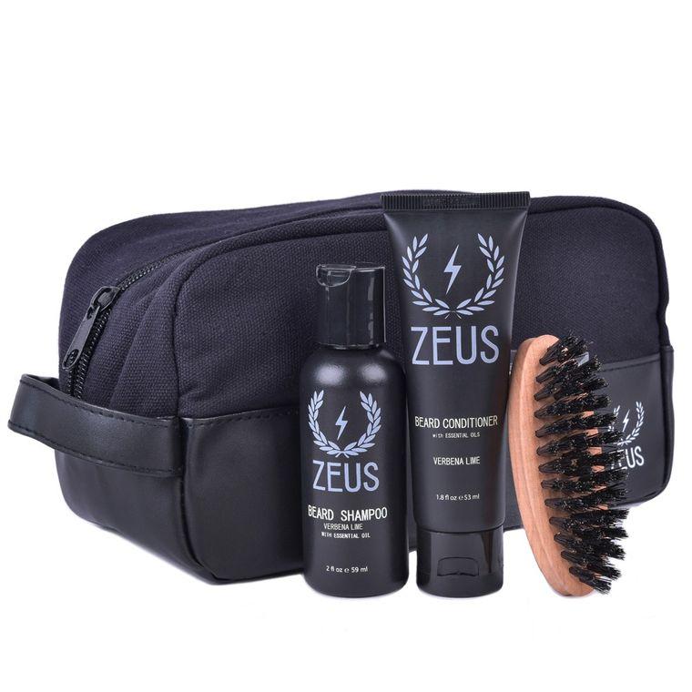 Zeus Deluxe Beard Care Dopp Kit Verbena Lime