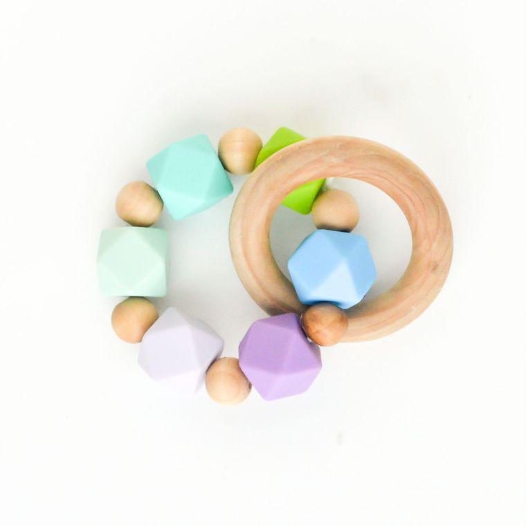 Hexi Teething Ring AGR