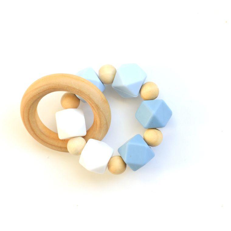 Hexi Teething Ring BWO