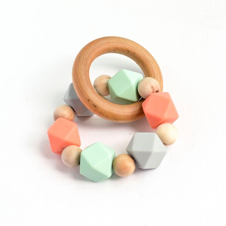 Hexi Teething Ring CMG