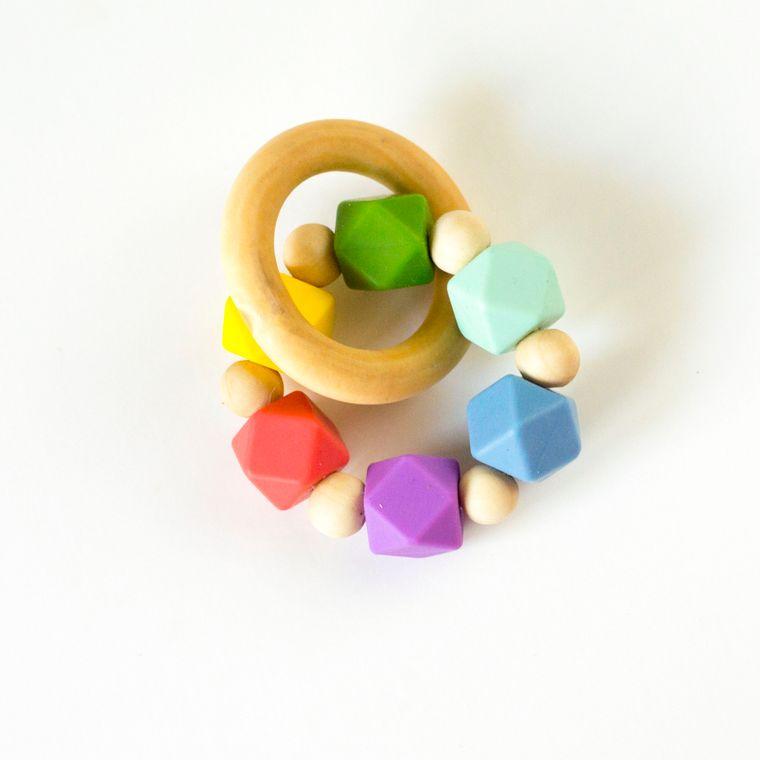Hexi Teething Ring MRN