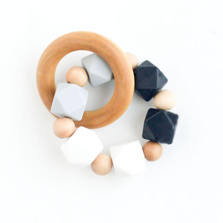 Hexi Teething Ring WGO