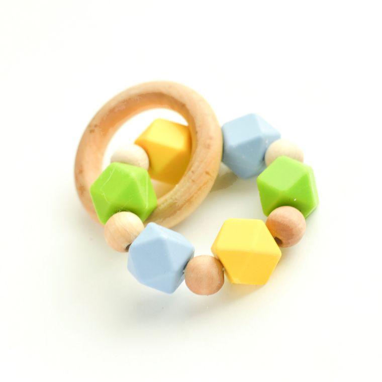 Hexi Teething Ring YGB