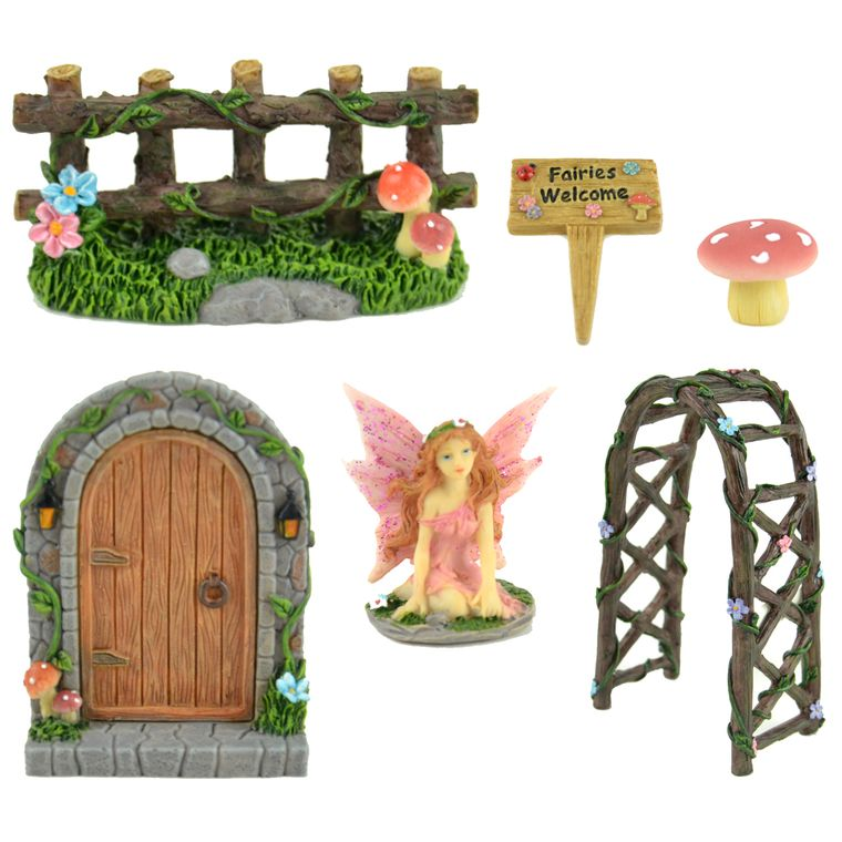Miniature Garden Kit (Fairies Welcome)