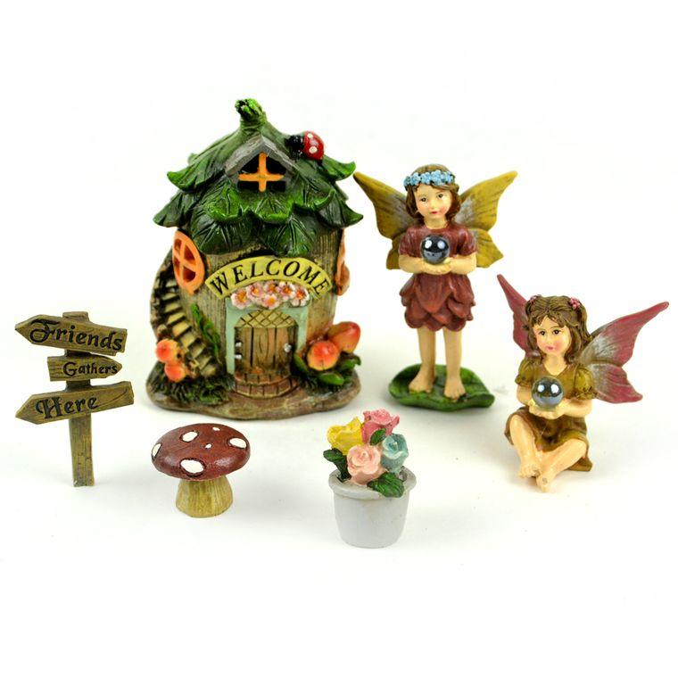 Miniature Garden Kit (Friends Gather Here)