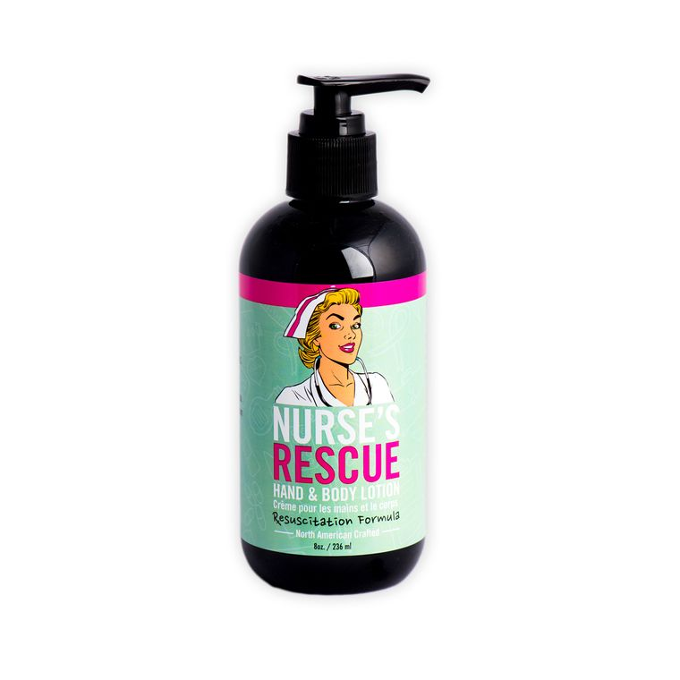 Nurse's Rescue - Hand & Body Lotion 8 oz -