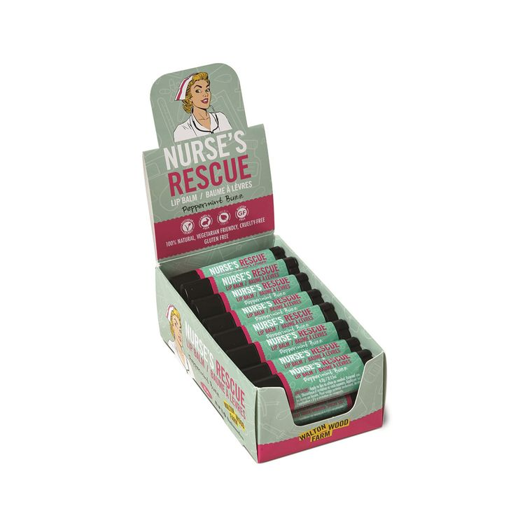 Nurse's Rescue - Lip Balm 20 pc