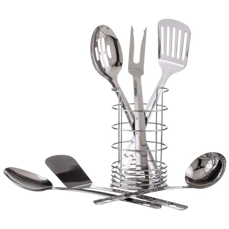 7pc S/S Kitchen Tool Set