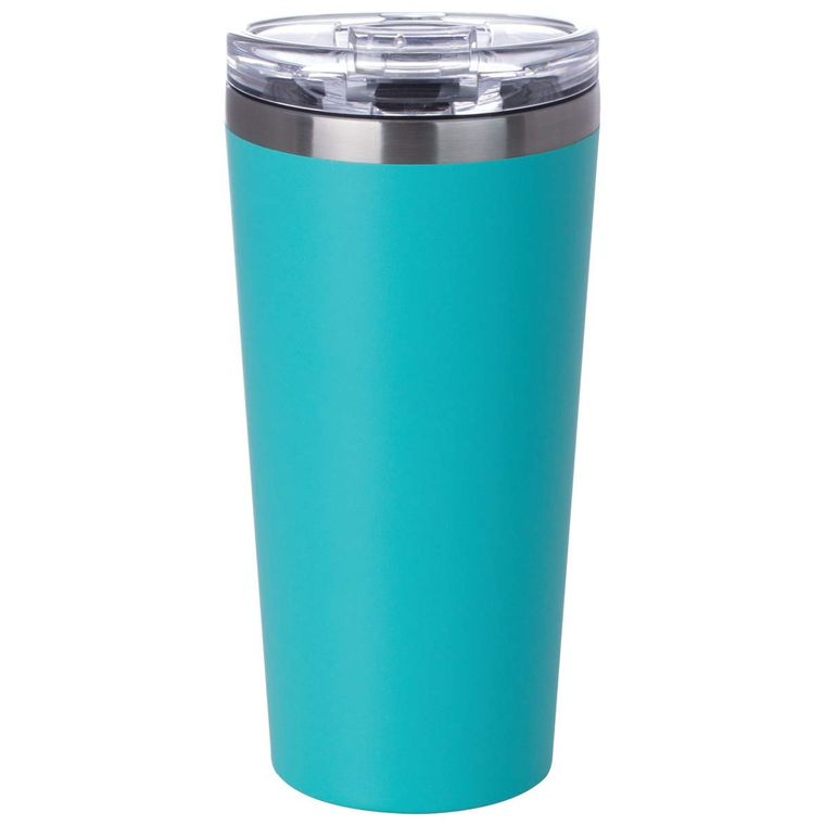 16oz Teal Double Wall Vacuum Tumbler