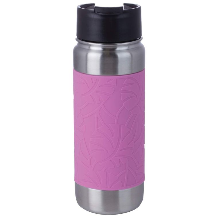 18oz Pink Double Wall Vacuum Bottle