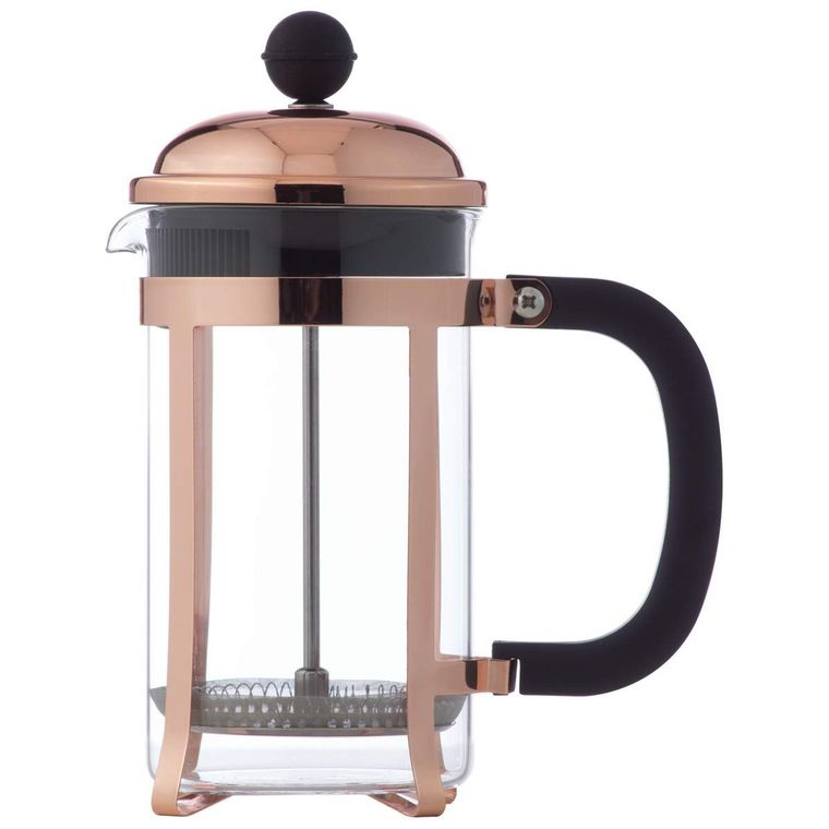 Wyndham House 20 OZ (600ml) Copper Colored French Press Coffee Maker