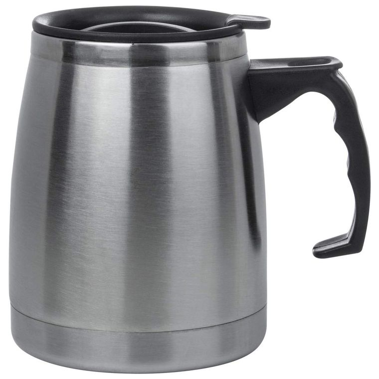 Maxam 16oz Double Wall Stainless Steel Boat Mug