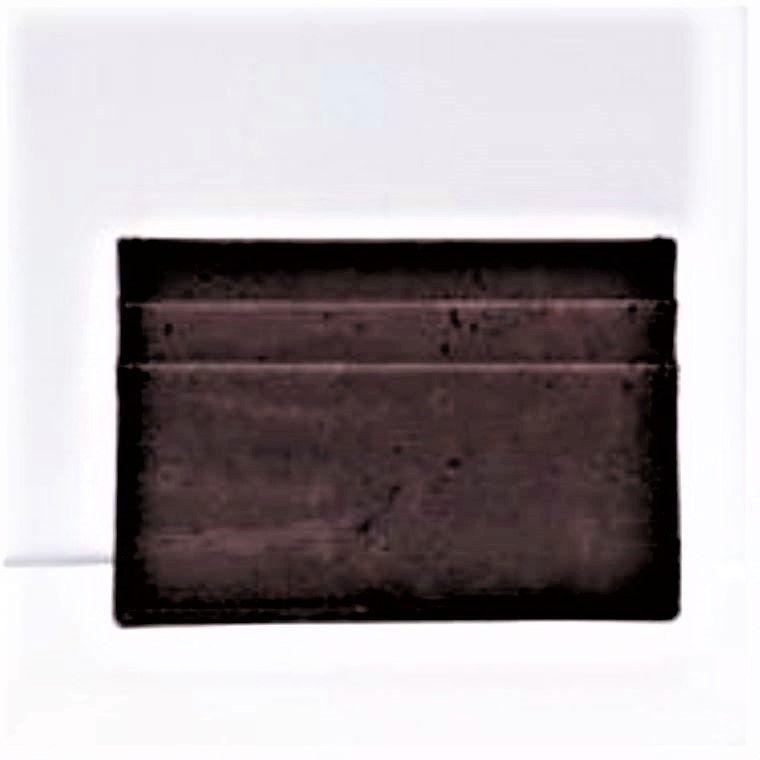 Chocolate Cork Card Case