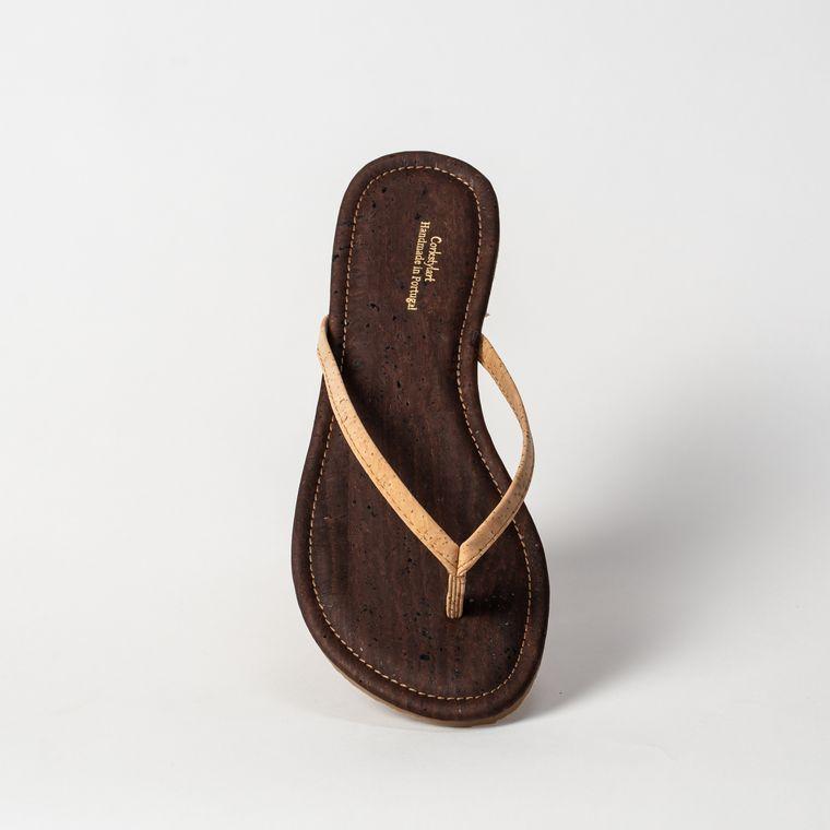 Women's Cork Flip FLop Thong Sandal