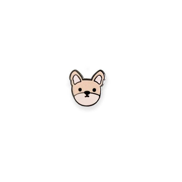 Frenchie Dog Enamel Pin