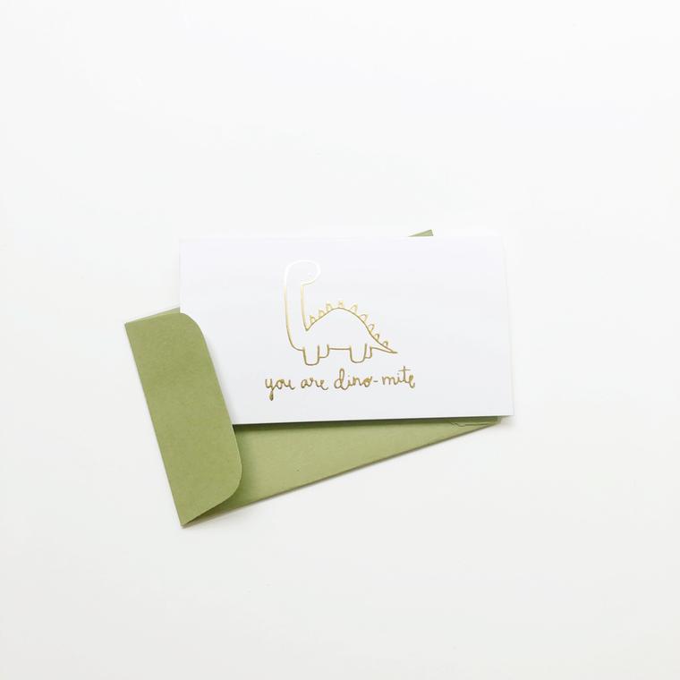 You are Dinomite Foil Mini Card Set of 10