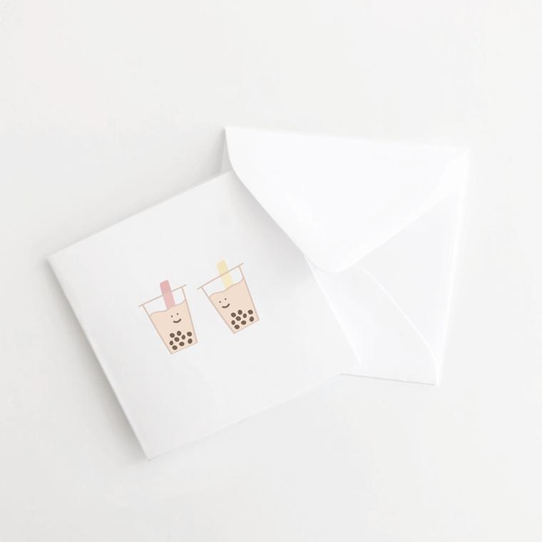 Boba Mini Card Set of 10