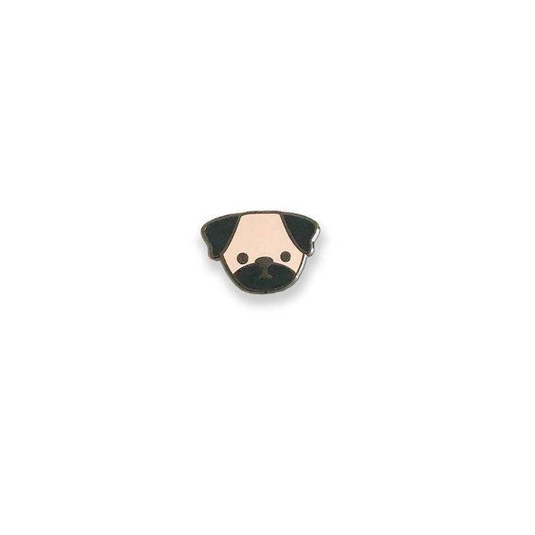 Pug Dog Enamel Pin