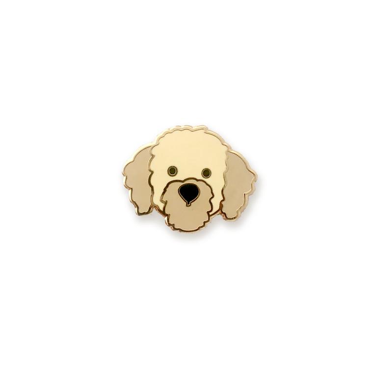 Doodle Dog Enamel Pin