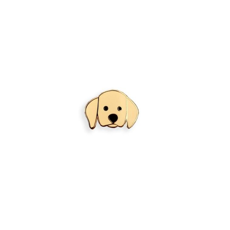 Labrador Dog Enamel Pin