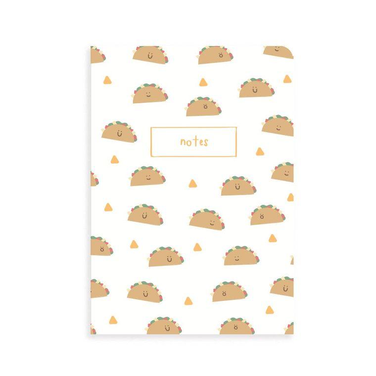 Taco Pocket Grid Notebook