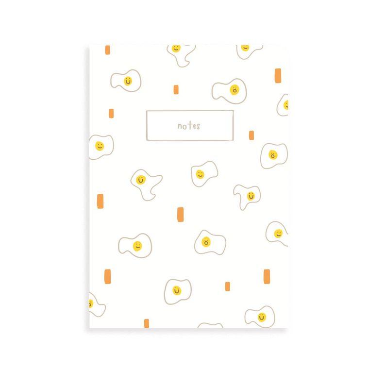 Egg Pocket Grid Notebook