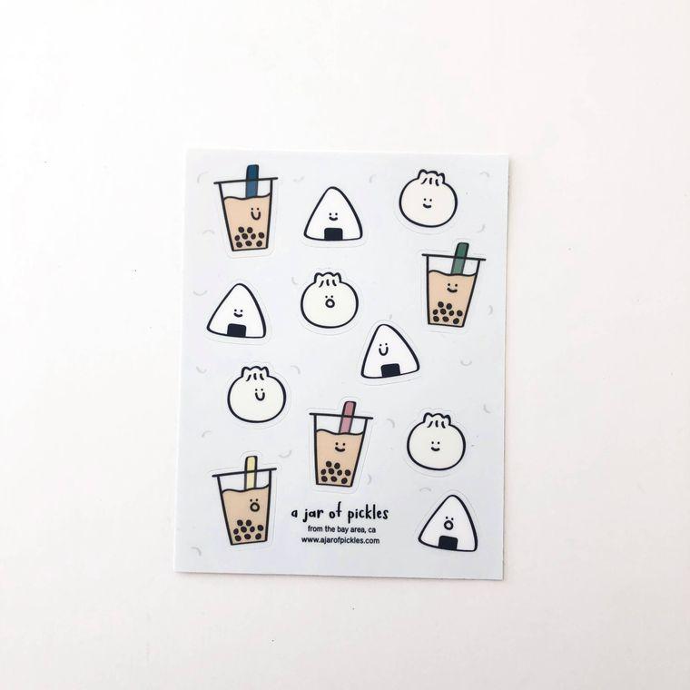 Boba Sticker Sheet