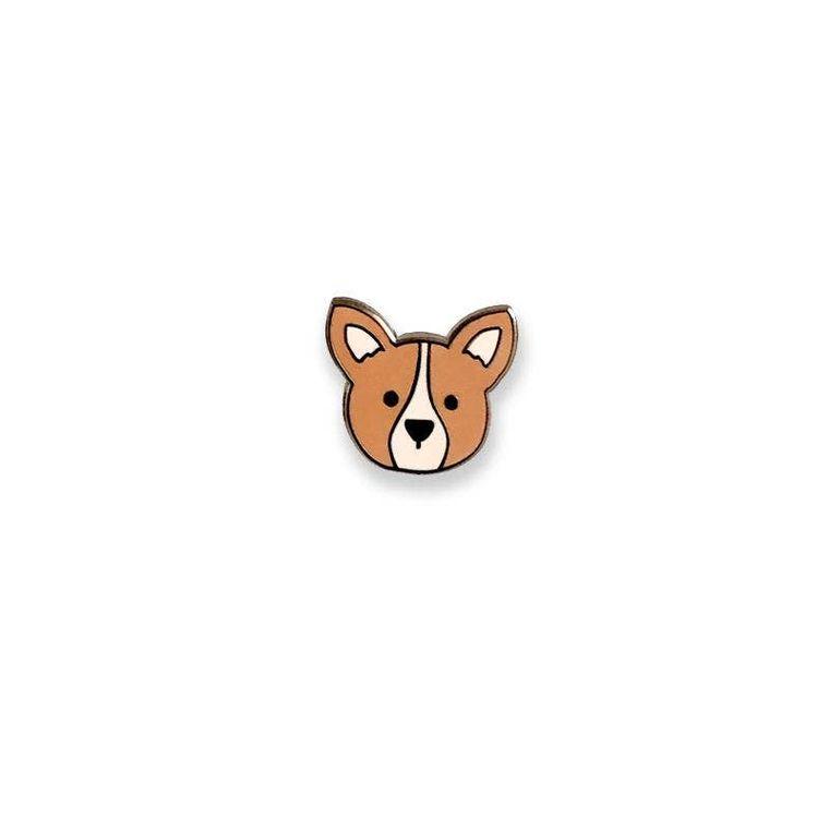 Corgi Dog Enamel Pin