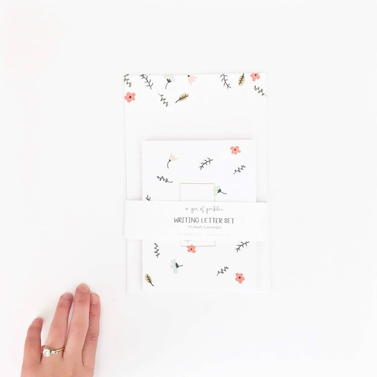 Spring Letter Writing - Set of 10