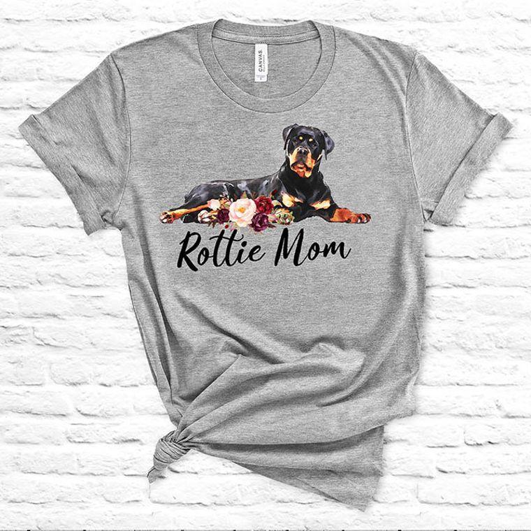 Rottie Mom Rottweiler Dog T-shirt