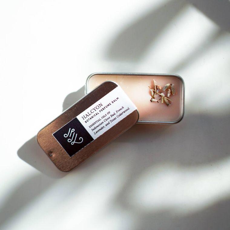 Natural Perfume Balm: Halcyon